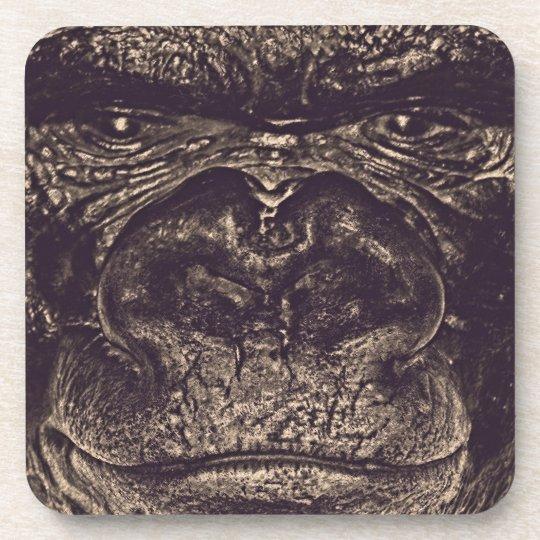 Gorilla, Close Up Face (gfaceacc) Coaster