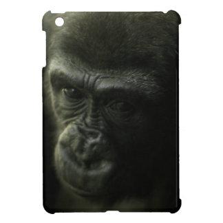 Gorilla Closeup.png iPad Mini Covers