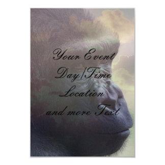 Gorilla Daydream 3.5x5 Paper Invitation Card