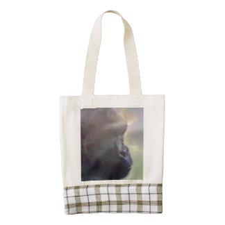 Gorilla Daydream Zazzle HEART Tote Bag