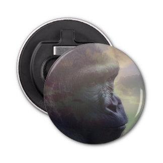 Gorilla Daydream Button Bottle Opener