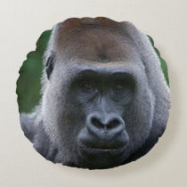 """""""Gorilla"""" design gifts and products Round Pillow"""