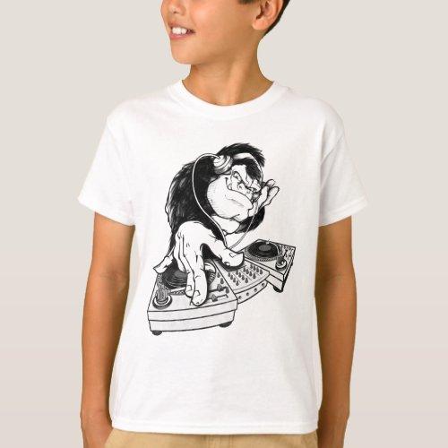Gorilla DJ Unique design T-Shirt
