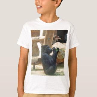 Gorilla eating his lunch, Animal, Wildlife, Ape T-Shirt