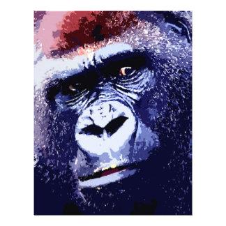 "Gorilla Face 8.5"" X 11"" Flyer"
