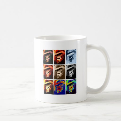 Gorilla Faces Coffee Mug