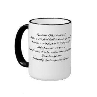 Gorilla Family Coffee Mug