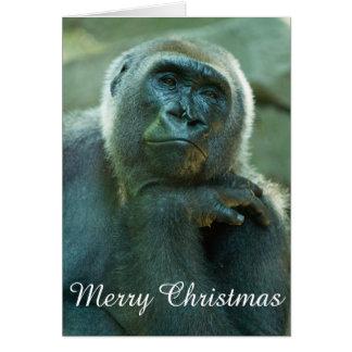 Gorilla - Fed Up Card