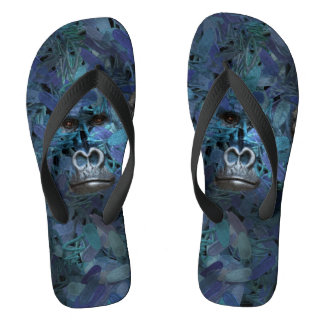 Gorilla Find me series Men Blue Flip Flops