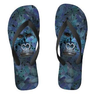 Gorilla Find me series Men Blue Flip Flops