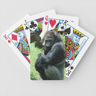 Gorilla Glare Deck of Cards Bicycle Playing Cards
