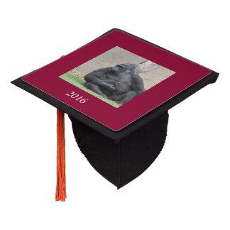 gorilla graduation cap topper