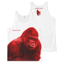 Gorilla Guard Dog All-Over-Print Tank Top