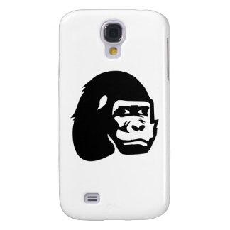Gorilla head samsung galaxy s4 cases