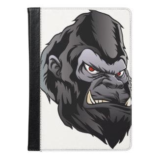 gorilla head illustration iPad air case