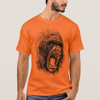 Gorilla Head T-Shirt