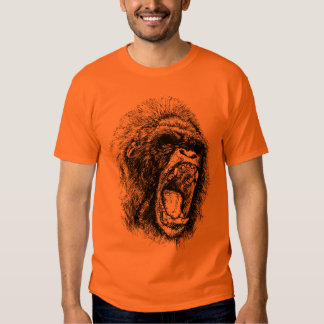 Gorilla Head Tee Shirts