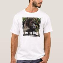 Gorilla i to the boss T-Shirt