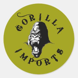 Gorilla Imports Sticker