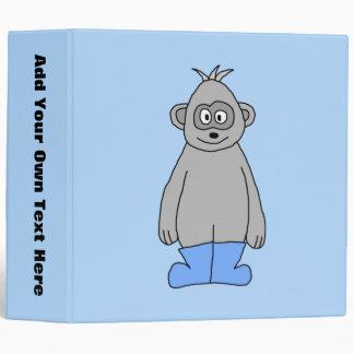 Gorilla in Blue Boots. Binder