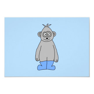 Gorilla in Blue Boots. Card