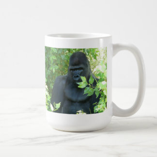 gorilla in the bush coffee mug