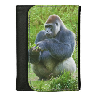 Gorilla in the Jungle Wallet For Women