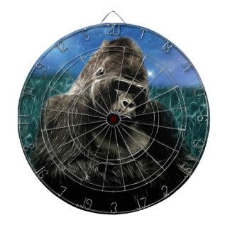 Gorilla in the meadow dart board