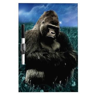 Gorilla in the meadow dry erase board