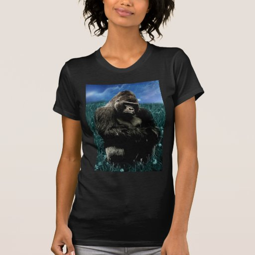 Gorilla in the meadow tees