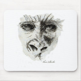 Gorilla in the Mist Mouse Pad