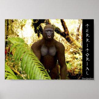 Gorilla in the mist poster