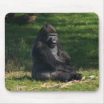 Gorilla in the sun mouse pads
