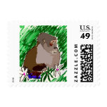 Gorilla in the Wild Stamps
