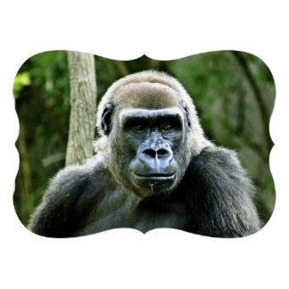 Gorilla Personalized Invitation