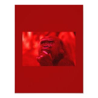 Gorilla Invitation - Humorous Animals Invitations