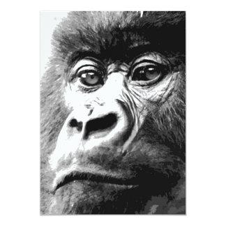 Gorilla Invitations