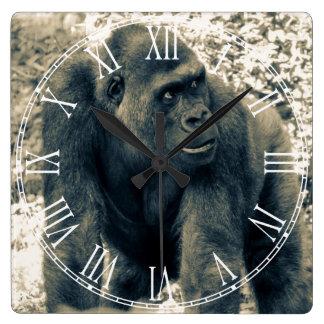 Gorilla.jpg Reloj Cuadrado