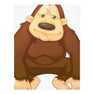 Gorilla Customized Letterhead
