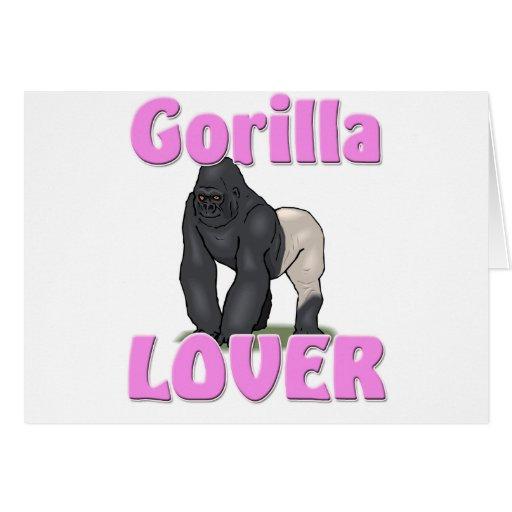 Gorilla Lover Card