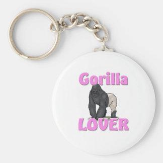 Gorilla Lover Keychain