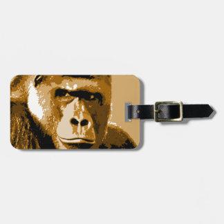 Gorilla Luggage Tag