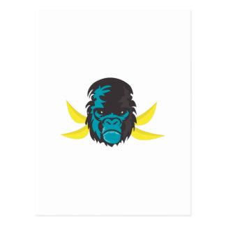 Gorilla Madness Postcard