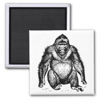 Gorilla Refrigerator Magnet