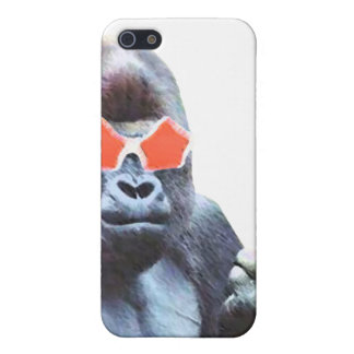 Gorilla middlefinger Street Art Iphone 4 & 4S case