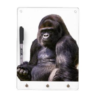 Gorilla Monkey Ape Dry Erase Board