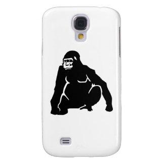 Gorilla monkey galaxy s4 case