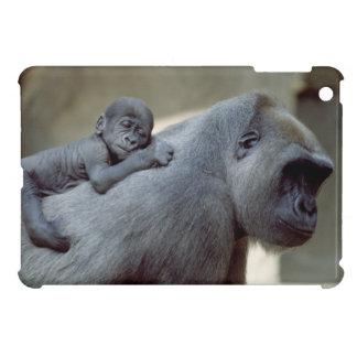 Gorilla Mother and Baby iPad Mini Cases
