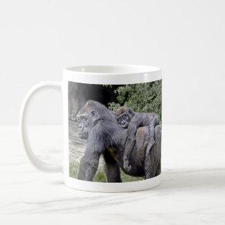 Gorilla Mug Piggy Back Mug