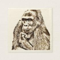 Gorilla Napkins